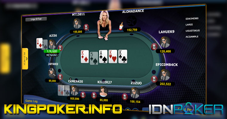 IDN POKER: Game Texas Poker IDNPLAY : KINGPOKER.INFO